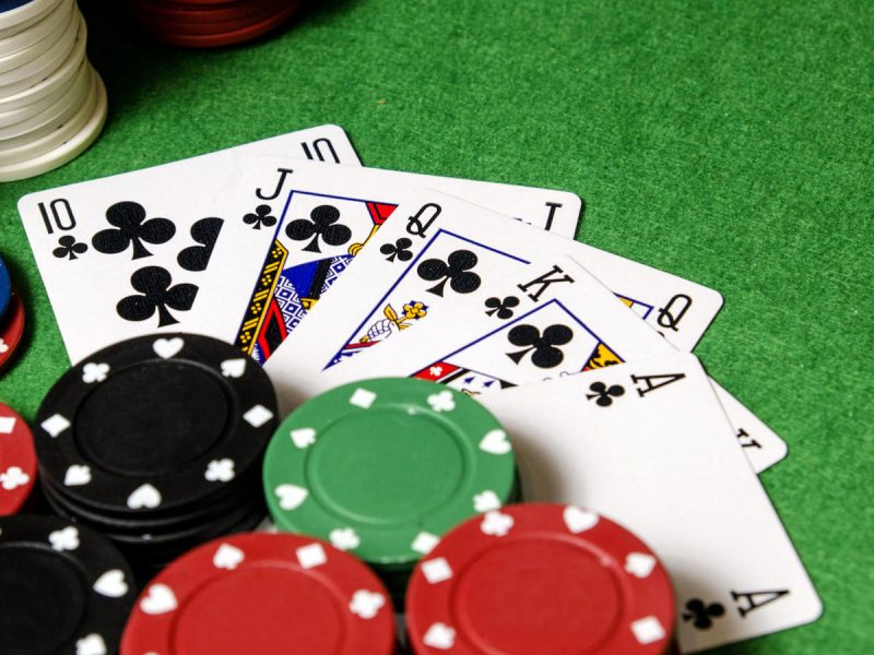 Online Real Money Poker Game Table